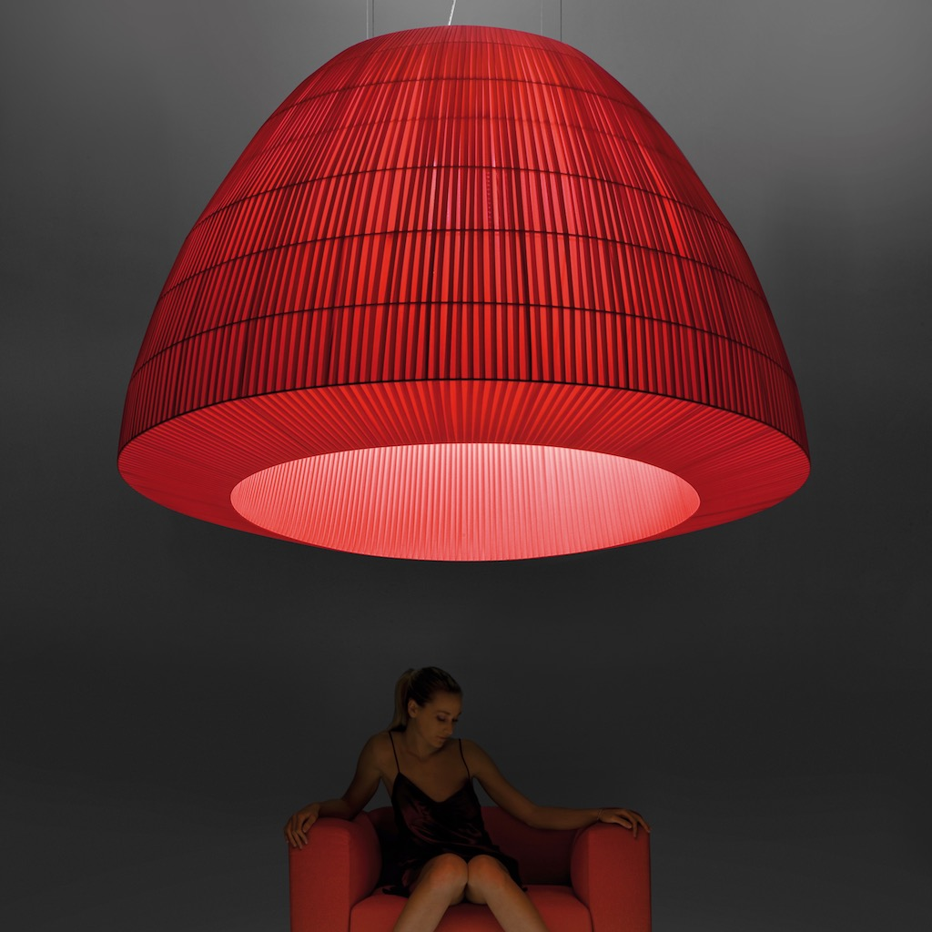 AxoLight Bell Pendant Red